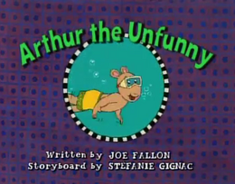 Arthur the Unfunny Title Card