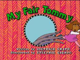 My Fair Tommy title card