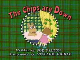 The Chips are Down Title Card