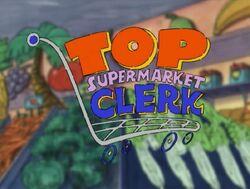Top supermarket clerk
