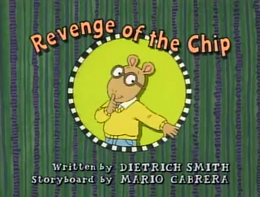 Revenge of the Chip Title Card