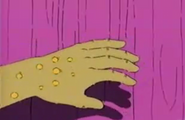 The mysterious hand