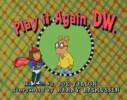 Play It Again, D.W. Title Card
