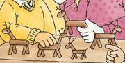 VolunteeroftheYear - Clothespin reindeer