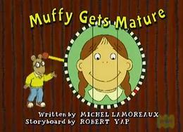 Arthur muffy gets mature