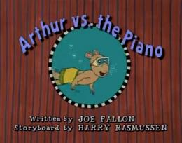 Arthur vs. the Piano Title Card