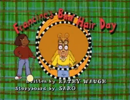 Francine's Bad Hair Day title card