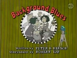 Background Blues Title Card