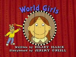 World Girls Title Card