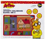 Abc blocks box front