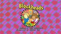 Blockheads Title Card