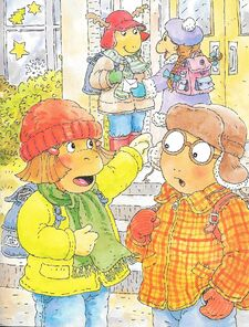 Arthur's Perfect Christmas - Francine, Arthur, George and Muffy