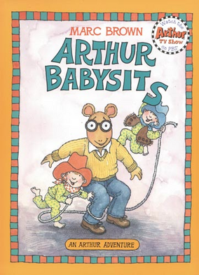 Arthur Babysits Book Cover