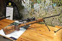 300px-7,62 Tarkkuuskivääri 85 Lippujuhlan päivä 2013
