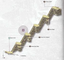 Stairway to Fallen Heaven Map 3