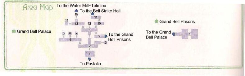 Grand Bell Palace Area Map