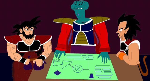 File:Ledgic was an officer in Frieza's Army in charge of a Saiyan platoon with Goku's grandpa - By Niv Lugassi.png