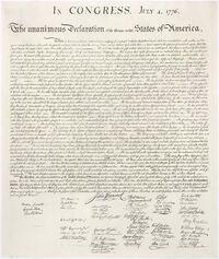 Us declaration independence