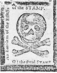 O! the fatal Stamp