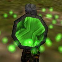 Sanguinary Aegis Green Live