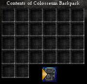 Colosseum Backpack Slots