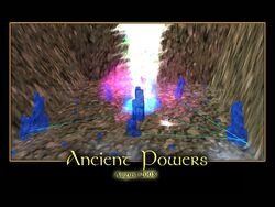 Ancient Powers Splash Screen