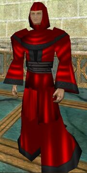 Elemental Master Robe Red Live