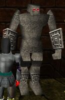 Golem Warden of Metos Infused Live