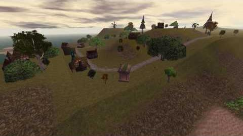 Asheron's Call - Cragstone Timelapse (Aluvian Realm)