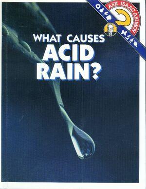 A what causes acid rain