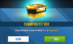 Champion Kit Box