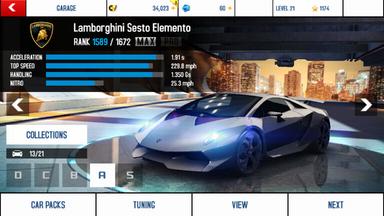 Lamborghini Sesto Elemento maxed out