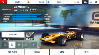 A8A McLaren M14A PRO