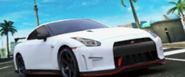 A8 Nissan GT-R NISMO in-game art