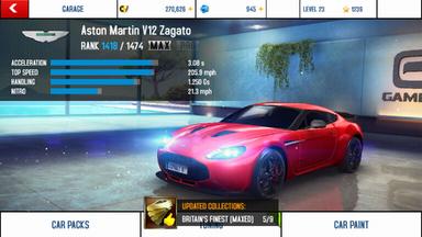 Aston Martin V12 Zagato maxed out