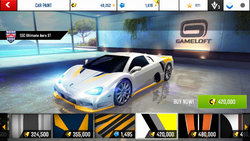 SSC Ultimate Aero XT Decal 21