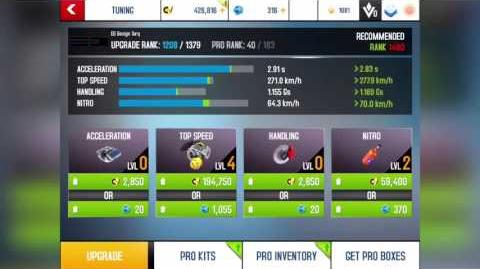 Asphalt 8 R&D ED Design Torq Lab 4 Penultimate AI rank 1254(0403 2020)