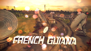 French Guiana pre-race
