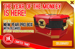 Box ad Year of the Monkey