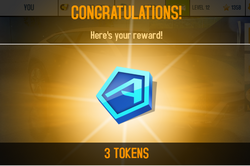 3 Tokens receive crop