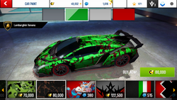 Lamborghini Veneno Decal 9