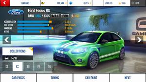 A8 Focus stats (MPTK)