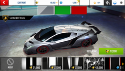 Lamborghini Veneno Decal 2