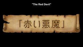 The Red Devil episode