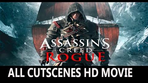 Assassin's Creed Rogue all cutscenes HD Movie