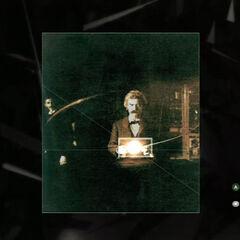 马克·吐温照片的图解