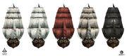 AC4 Jackdaw Sail Customisation - Concept Art 1