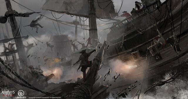 File:Assassin's Creed IV Black Flag - Concept art 6 by kobempire.jpg