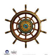 Assassin's Creed IV Black Flag -Ship-Jackdaw - Iconic Wheel by max qin