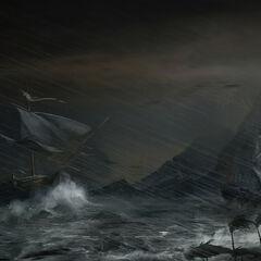 <i>热带风暴</i> 马克思·秦绘制